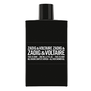This is HIM Shower Gel