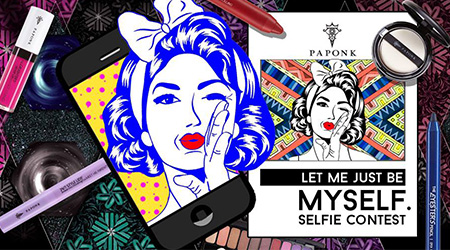 Let me just be Myself Selfie Contest กับ PAPONK