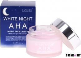 LANSLEY AHA White Night Face Cream