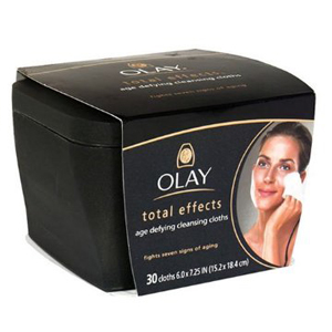 Total Effects Age Defying Cleansing Cloths