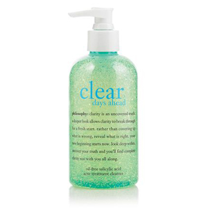 Clear Days Ahead Oil-Free Salicylic Acid Acne Treatment Cleanser