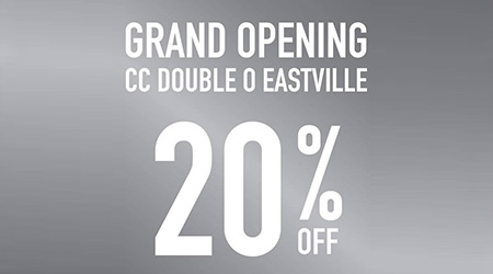 CC Double O Grand Opening ลด 20%!!