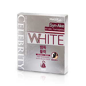Celebrity Syn-Ake Power Brightening Gel Mask