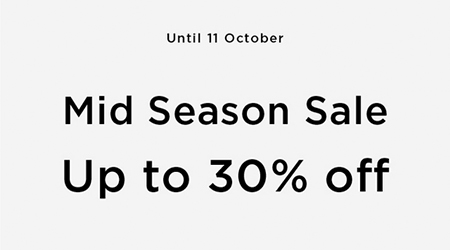 MANGO Mid Season Sale Up to 30% off !!