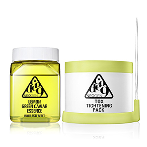Lemon Green Caviar Essence & Tox Tightening Pack K