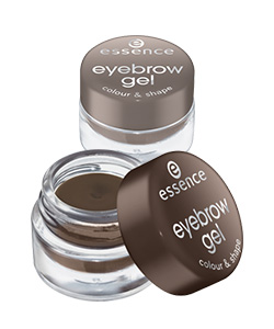 essence eyebrow gel colour & shape