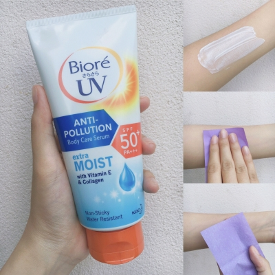 UV Anti-Pollution Body Care Serum Extra Moist SPF5