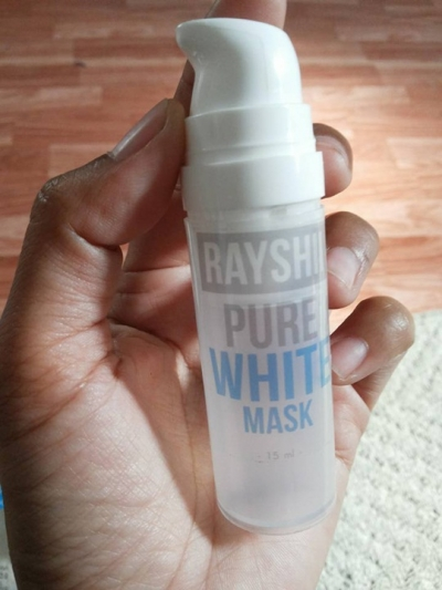 Pure White Mask