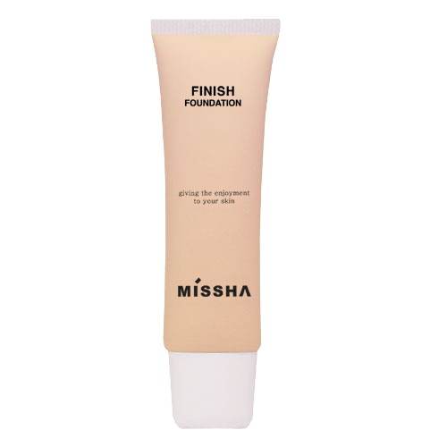 Finish Foundation (No.21/Natural Beige)