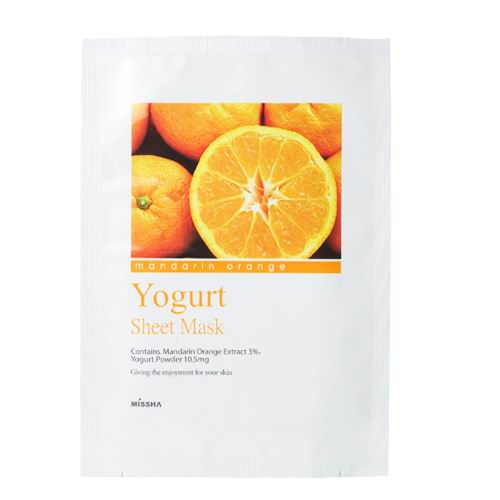 Madarin Orange Yogurt Sheet Mask