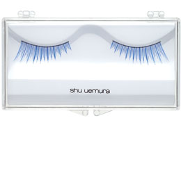 False Eyelashes Slant Blue