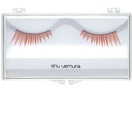 False Eyelashes Slant Red