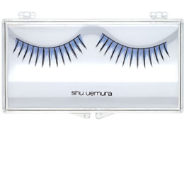 False Eyelashes Blue & Black