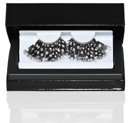 Premium Brown Feather False Eyelashes