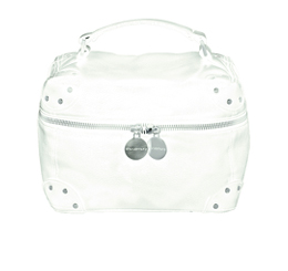 WHITE BEAUTY TOTE