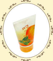 Orange & Mint Foot Scrub