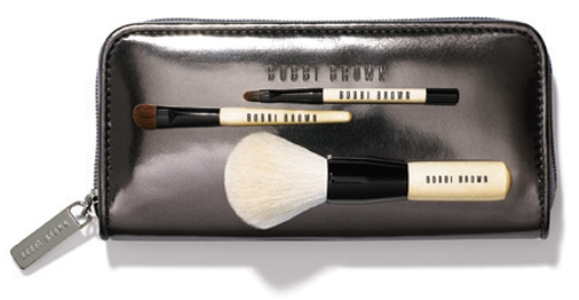 Chrome Mini Brush Set