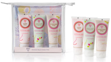 Scented hand cream trio