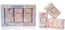 Scented soap trio