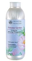 Princess Garden Oriental White Flower Perfumed Talc