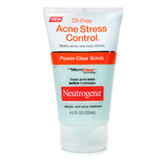 Oil-Free Acne Stress Control Power-Clear Scrub
